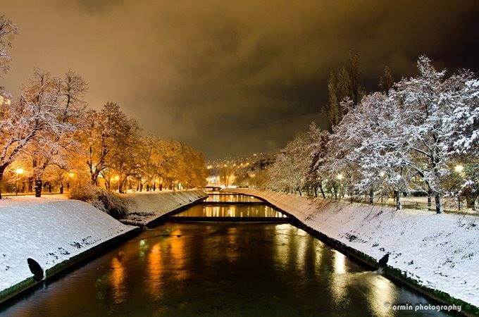 Vilsonovo Setaliste Sarajevo Beautiful Place For Walk Chat Gathering With Friends
