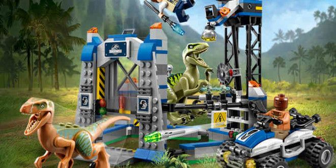Amazing Lego Jurassic World sets