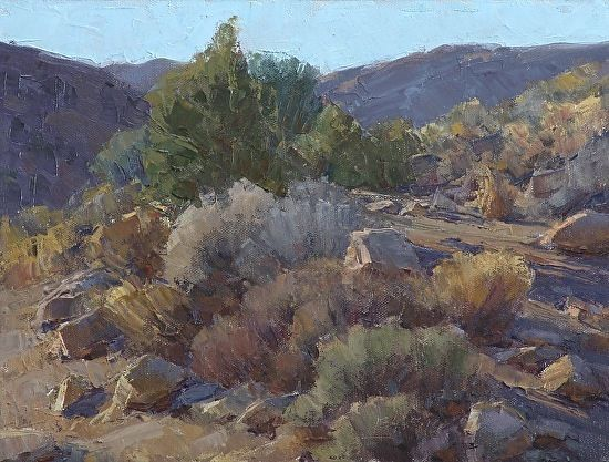 Comstock Textures by Jean LeGassick Oil ~ 9 x 12