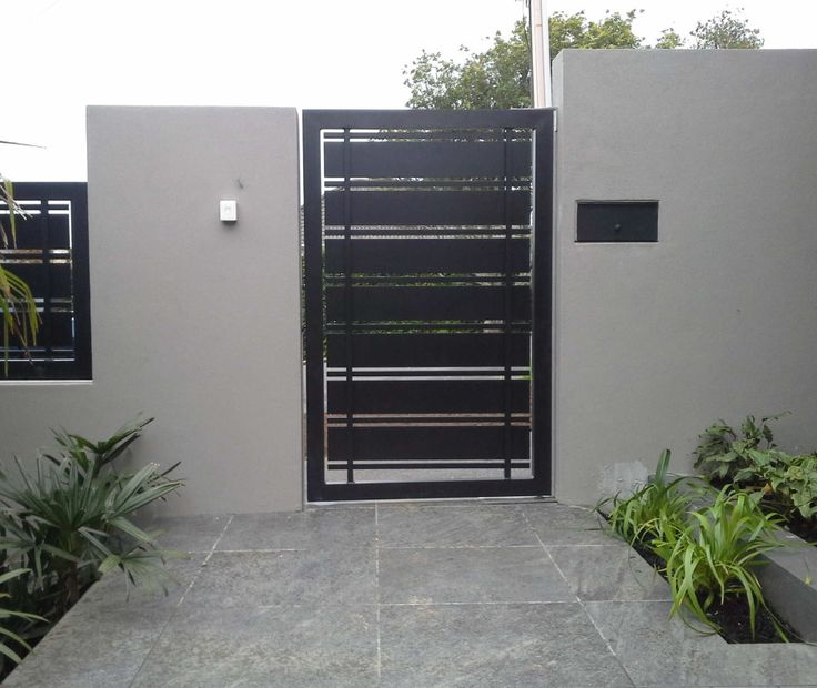 Amazing Modern Home Gates Ideas 20
