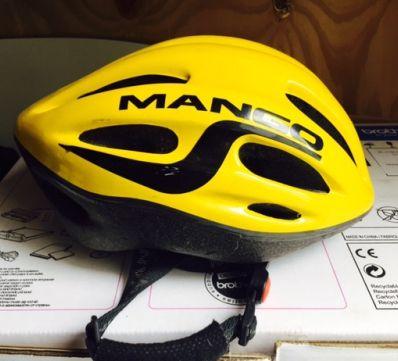 Smart Mango-cykelhjelm str. 56-62 cm- den har ikke fået slag og er ikke blevet tabt, så den er helt intakt