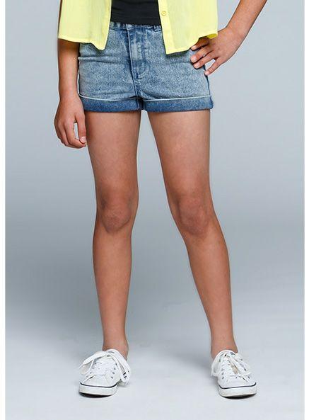Urban Angel Acid Denim Shorts