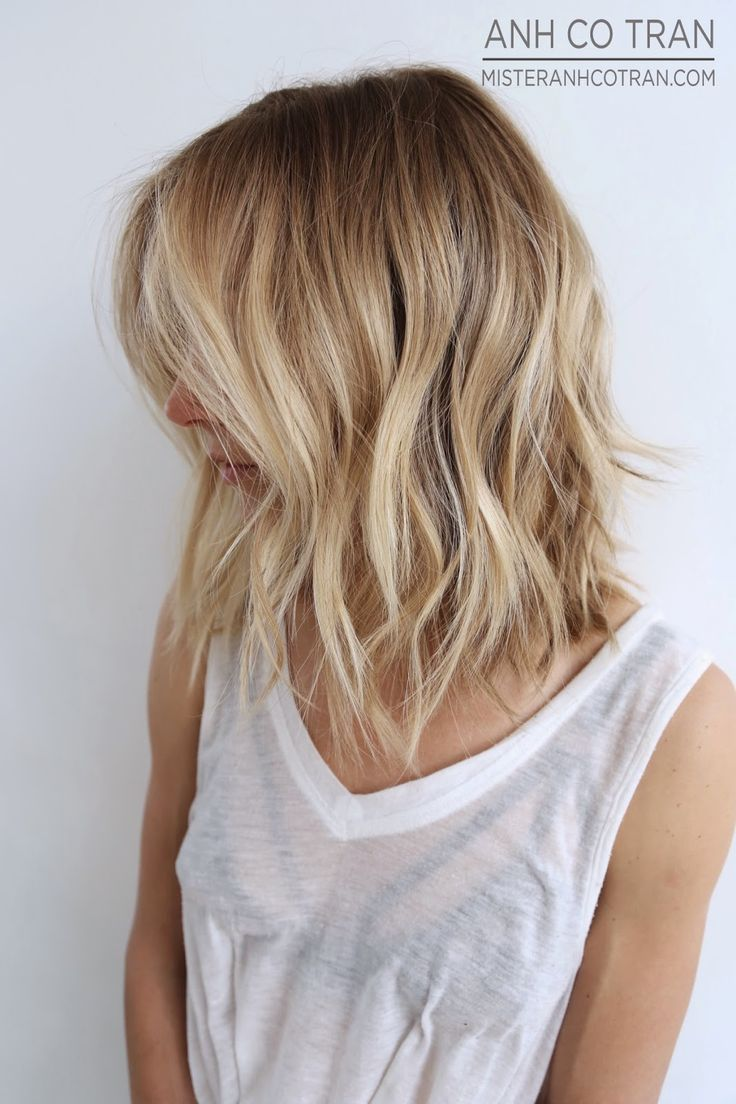 TEXTURE + COLOR PERFECTED. Cut/Style: Anh Co Tran • IG: @anhcotran • Appointment inquiries please call Ramirez|Tran Salon in Beverly Hills at 310.724.8167.