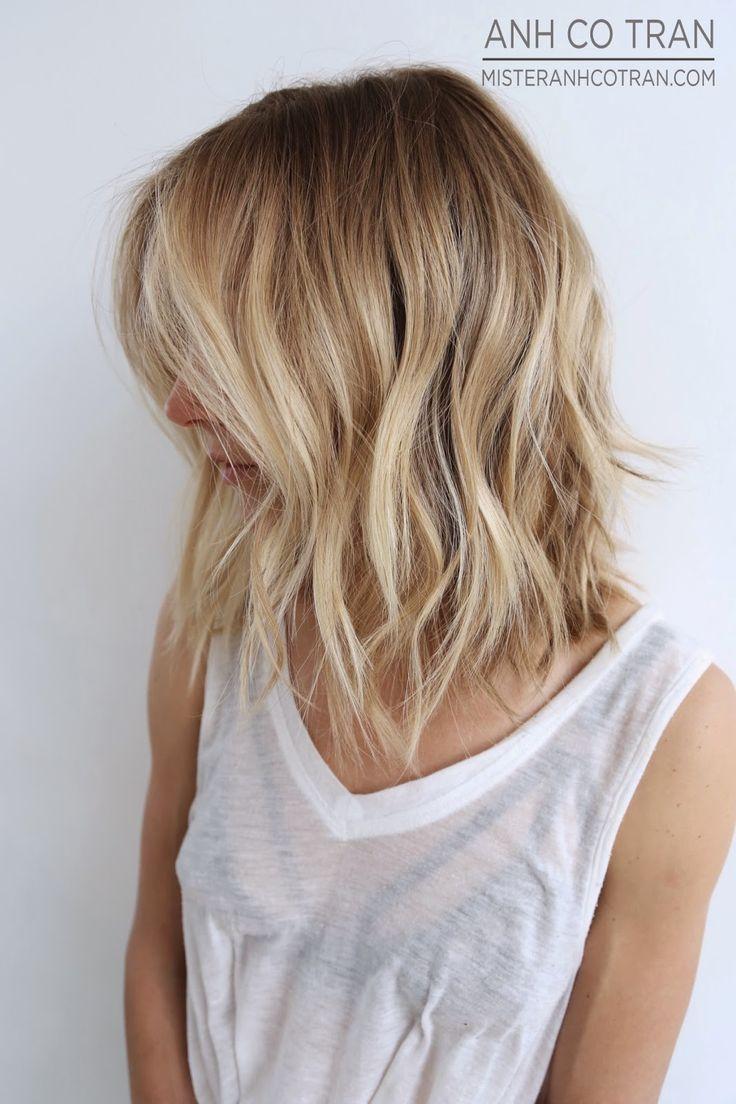 Haare offen
