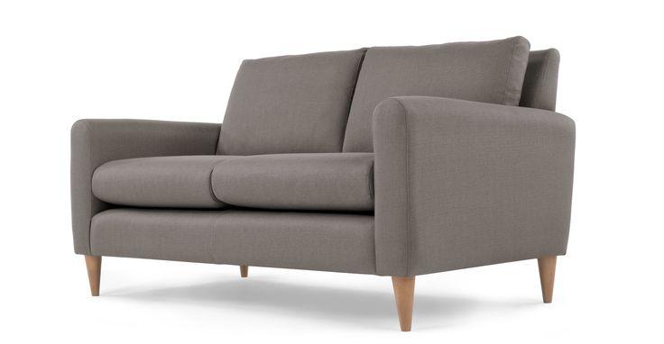 Gaia 2 Seater Sofa, Dove Grey