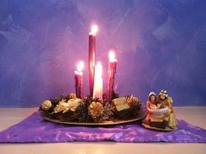 Advent Day 02 – How to make an Advent wreath