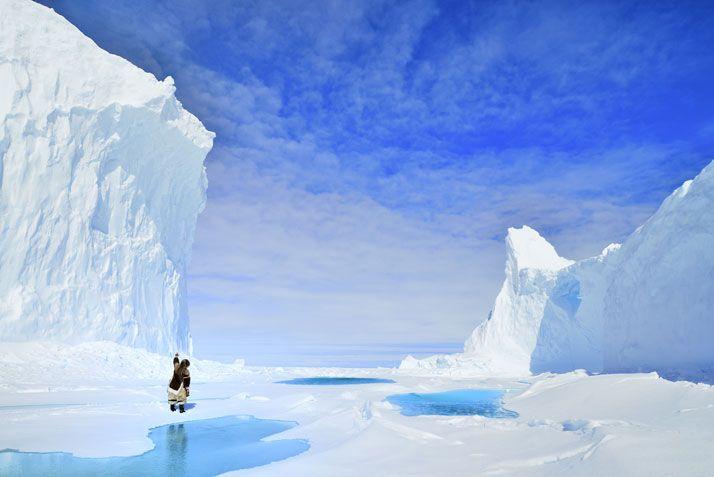 Camping On The Frozen Arctic Sea photo © David De Vleeschauwe