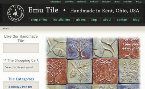Drupal eCommerce Site      Emu Tile is a site for Handmade Ceramic Tile.    The Site is Drupal 6 due to the time frame of creating it earli...
