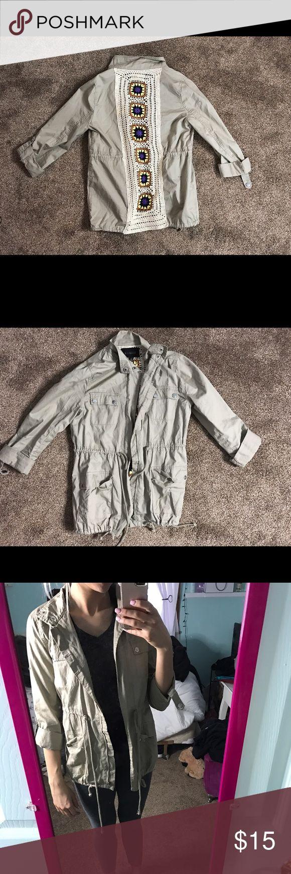 Full Tilt Safari Jacket Lightweight, slightly oversized, extremely comfortable, good for Spring/Fall Full Tilt Jackets & Coats Utility Jackets