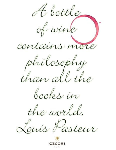 Louis Pasteur Wine Quote