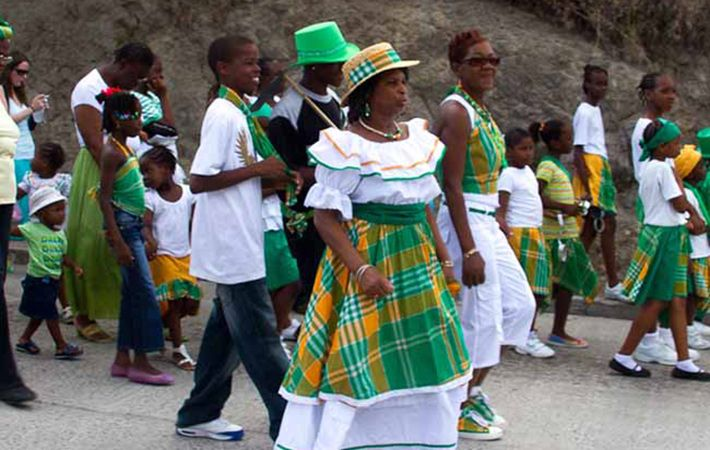 Montserrat: Known as the Emerald Isle of the Caribbean, it the only country outside Ireland where March 17 is a public holiday.