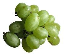 Raisins, Blanc, Vert, Fruit, Baies