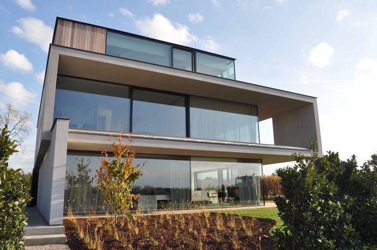 Inspiratiewoning ABS Bouwteam #absbouwteam #view #modern #architecture #inspiration