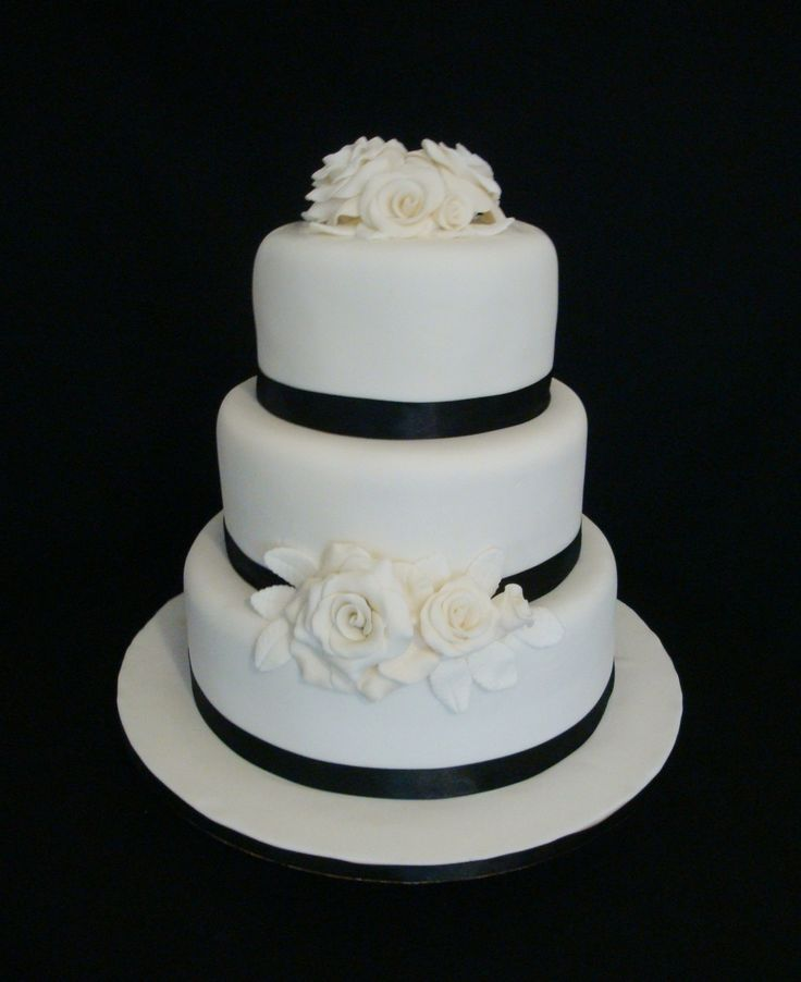 black and white wedding cake 1704 best