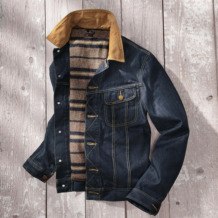 Lee Jean Jackets For Men