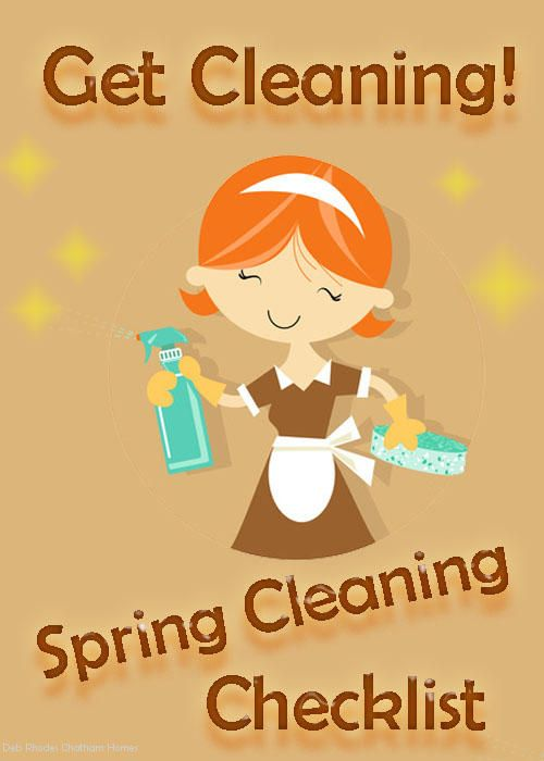 Spring Cleaning Checklist #DownloadableChecklist #Checklist #Spring #Cleaning #Blog