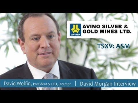 Avino Silver (TSXV:ASM) David Morgan Interviews David Wolfin