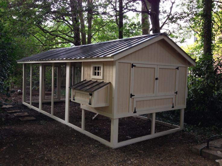 Large 8x20 chicken coop backyard chicken coops for Chicken run for 6 chickens