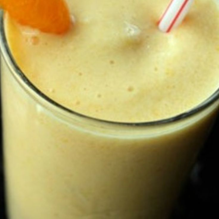 Orange Creamsicle Smoothie | Southern Lady In The Kitchen | Pinterest