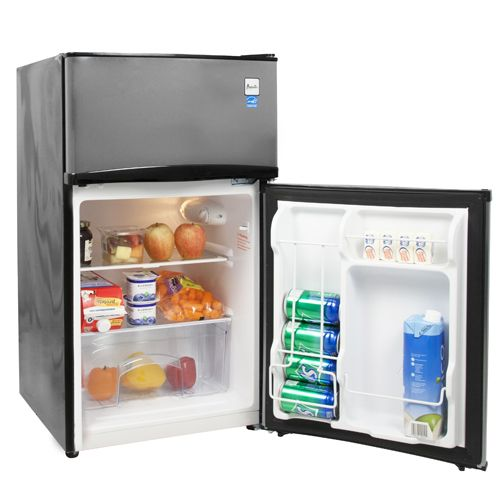 Ft. Two Door Compact Refrigerator/Freezer Secondary Image