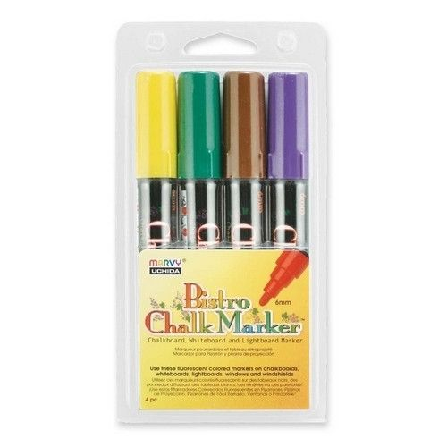 Bistro Chalk Marker, 4/PK