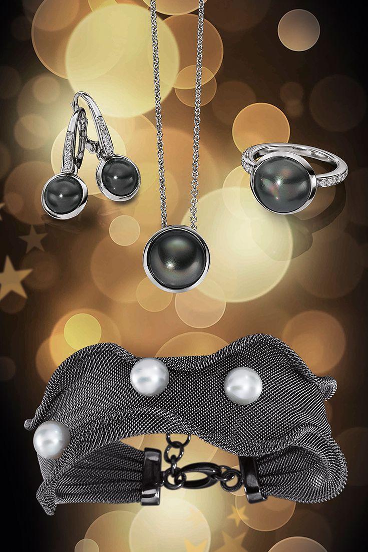 Perlentanz. Ob feierliche Anlässe oder Business Kleidung - Perlen veredeln jedes Outfit auf noble Weise ohne dabei aufdringlich zu wirken.