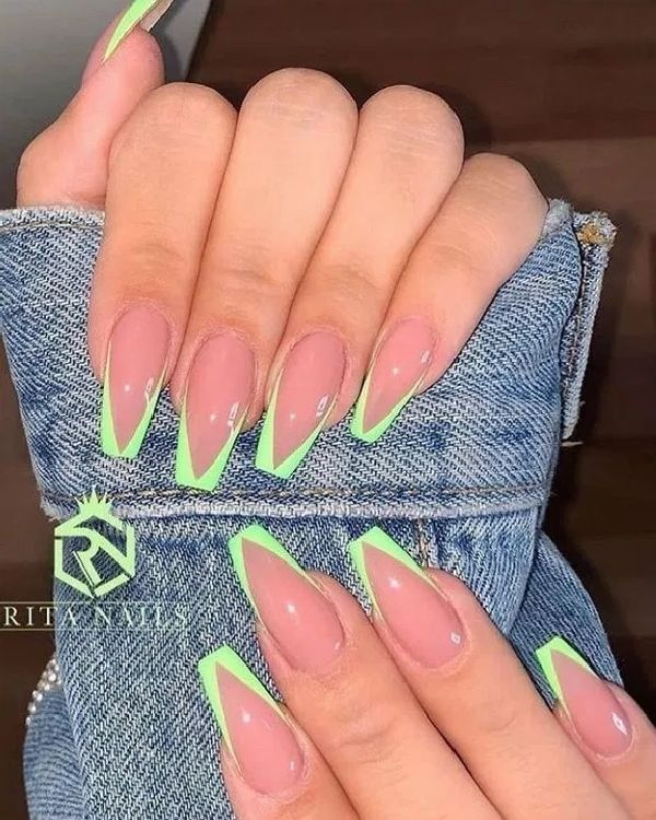 51 Stylish Acrylic Coffin Nail Designs And Colors For Spring