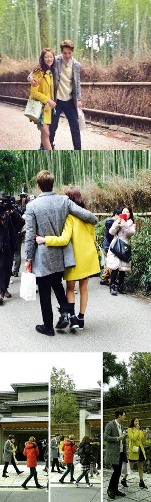 CNBLUE's Jonghyun and actress Gong Seung Yeon spotted on their Japan date for 'We Got Married' | http://www.allkpop.com/article/2015/03/cnblues-jonghyun-and-actress-gong-seung-yeon-spotted-on-their-japan-date-for-we-got-married