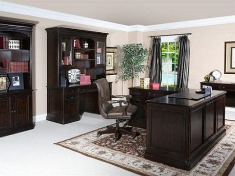 Office Collection  SKU: WO2050  Featuring a Cherry finish and antique brass hardware, this office collection combines traditional style with function.The Upper Room Home Furnishings, Ottawa's Premier Home Furniture Store.