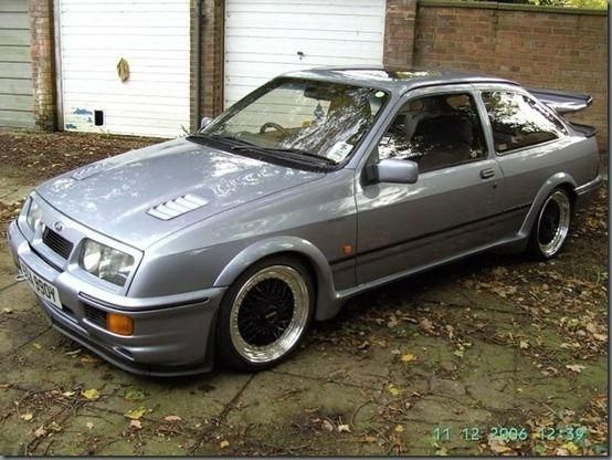 1987 Ford Sierra Cosworth Rs500 Maintenance Restoration Of Old Vintage Vehicles The Material For New Cogs Caster Ford Classic Cars Ford Motorsport Ford Sierra