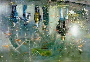 Speil, speil, på vannet der... - Aftenposten