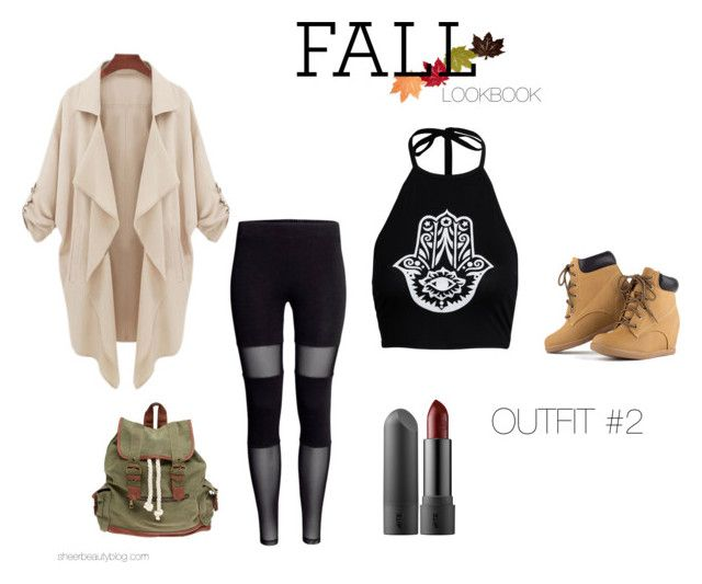 """FALL LOOKBOOK OUTFIT #1"" by sheerbeauty on Polyvore featuring Boohoo and Wet Seal"