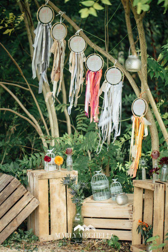 idées mariage hippie chic / DIY mariage
