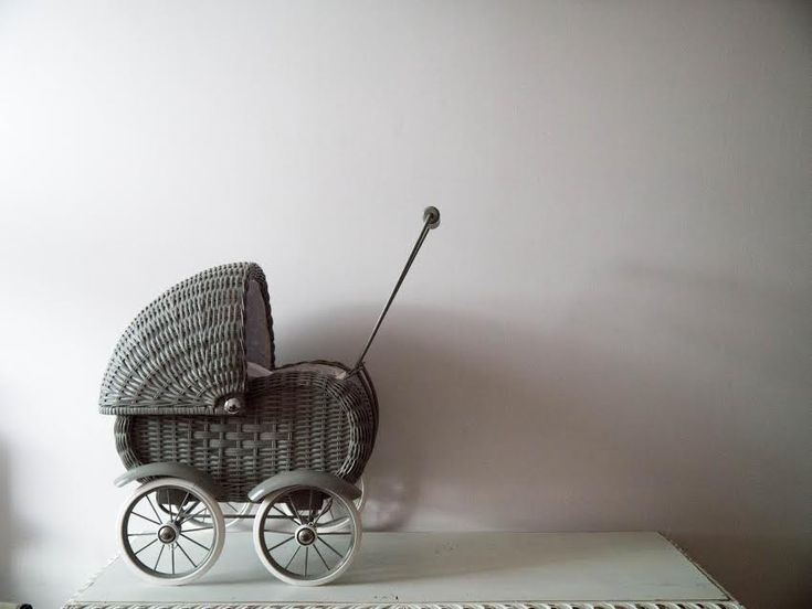 Beautiful, retro-style doll prams from The Tipi