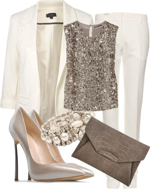 Sophisticated Polyvore Combinations For A Holiday Workplace Party | Style