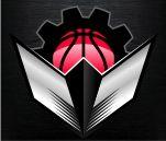 Modbury Machines. Fantasy Basketball Franchise Logo. ESPN Profile size.