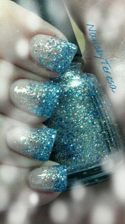 Happy New Year glitter! #nails #nailart #manicure