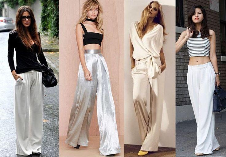 New! С чем носить белые брюки 2020-2021 женские 99 фото в ...