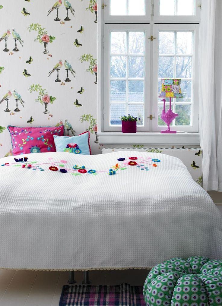 Nina Campbell Wallpaper Tween Bedroom Cute Kids Room I