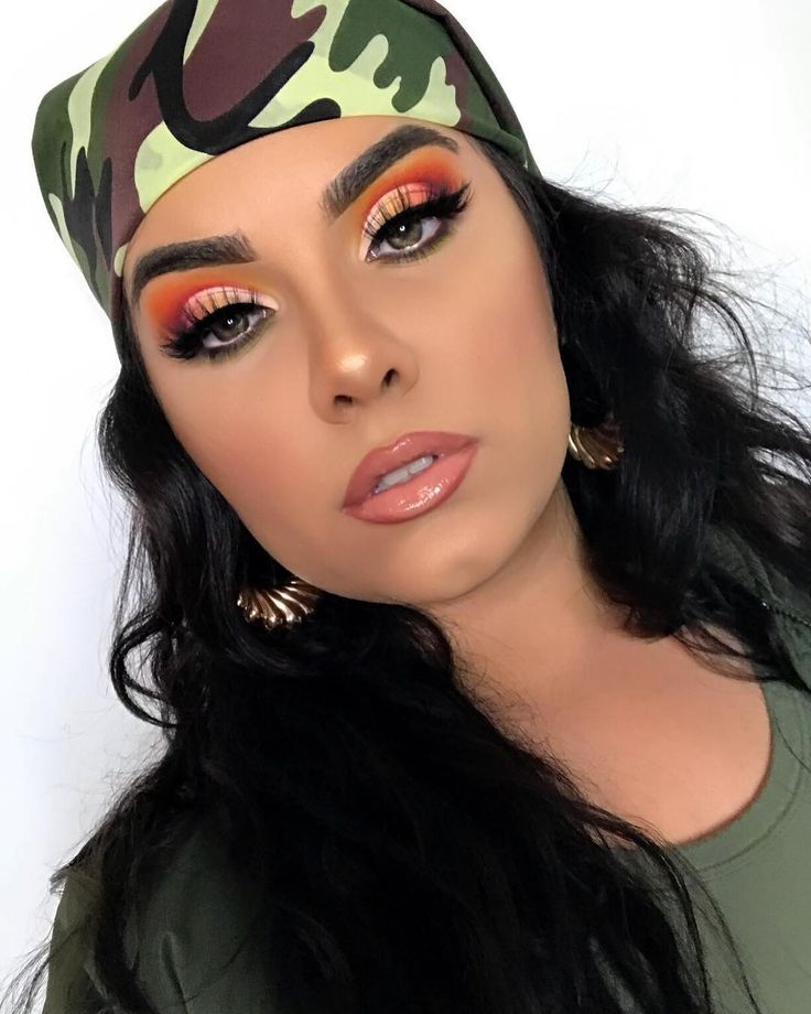 """16.3k Likes, 77 Comments - Juvia's Place (@juviasplace) on Instagram: """"In love with this look by @gxldvibe ・・・ Army Brat  - EYES: @juviasplace The Zulu palette Yellow,…"""""""