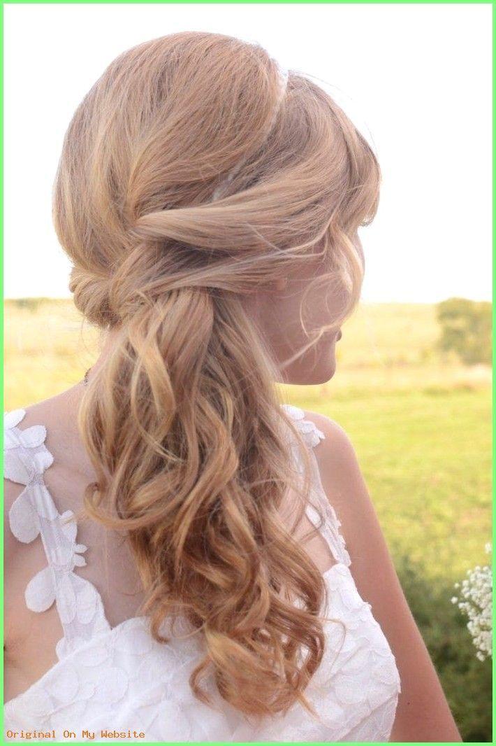 Prom hairstyles 2019 – wedding hairstyles with ponytail side-wetwisted-diadem # wedding …  – Prinzessinn – #hairstyles #ponytail #Prinzessinn #Prom