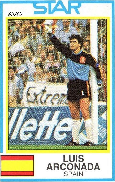ARCONADA - SELECCION ESPAÑOLA - 1982