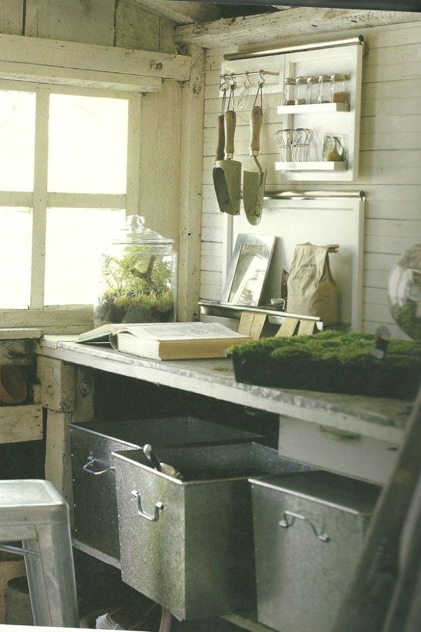 Simple Potting Shed transformation designs for your backyard outdoor - Potting Shed Designs
