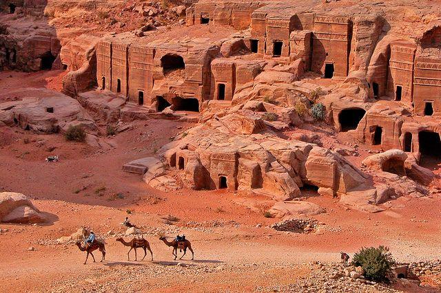 Petra, Jordan 外旅行世界遺産 ペトラの遺跡群 ペトラの絶景写真画像ランキング  ヨルダン