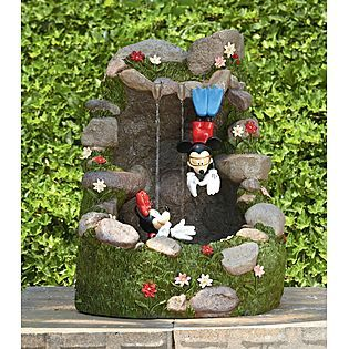 Disney 27 Inch Mickey Minnie Diving Fountain Kmart Item