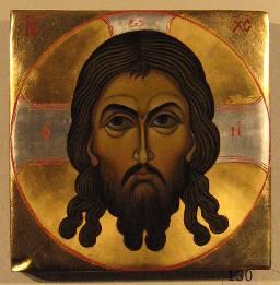In this image Jesus looks like a very powerful man so I think it is supposed to show his power.