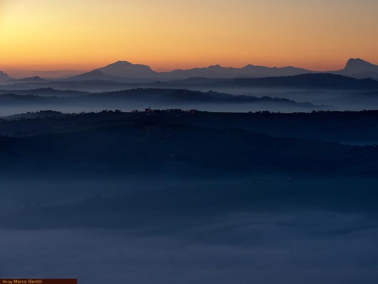 Guida turistica delle marche: provincia di Macerata, marche landscape, nature, marche region, travel, italy