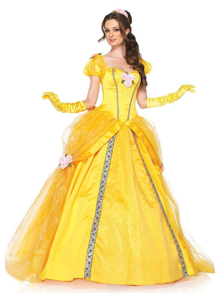 Free New Luxury sexy Halloween Princess Beauty and the Beast Belle belle cosplay