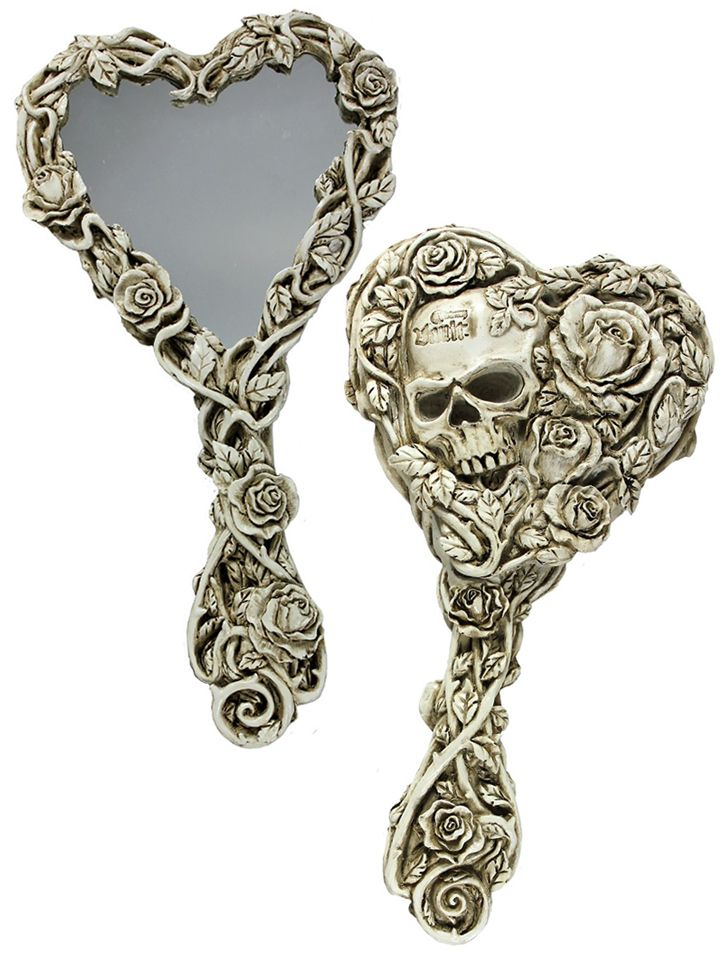 Fate of Narcissus Hand Mirror by Alchemy of England $20 Inked