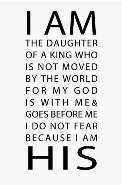 Yes my daughters are children of God, Thank the Lord